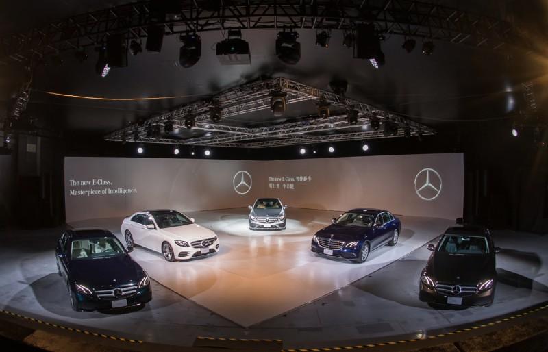 全新E-Class正式發表,初期先推出E200d與E200一柴一氣兩動力車型。