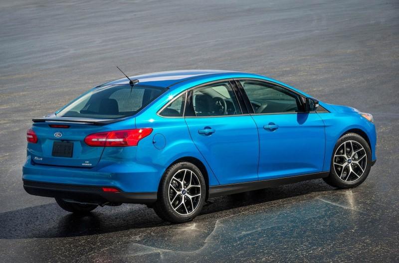 Ford Focus最小排氣量為1.0升,比對手足足少了一半之多!