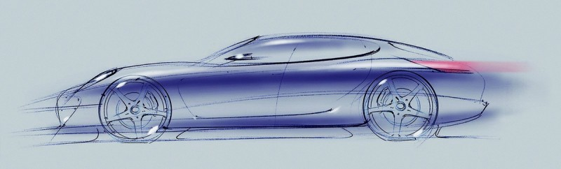 從兩張草圖可以看看新車(上圖)與現行車款(下圖)的差異變化。