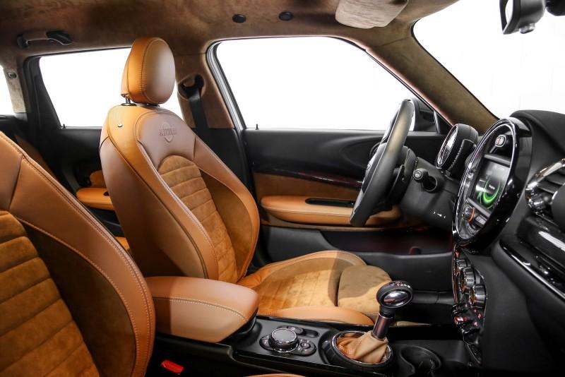 與BMW Motorrad R nineT Scrambler坐墊材質相同的內裝設計,更增添了座艙內的復古情懷。