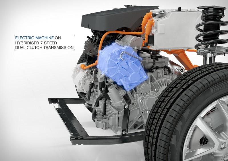 CMA平台上可搭載油電混合動力