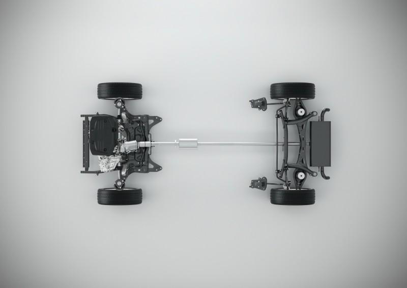 CMA平台搭載三缸引擎配置圖