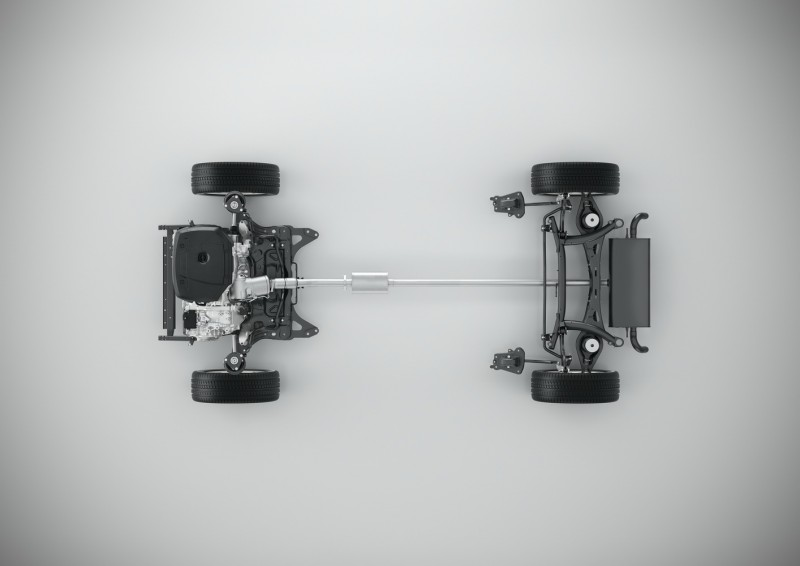 CMA平台搭載四缸引擎配置圖