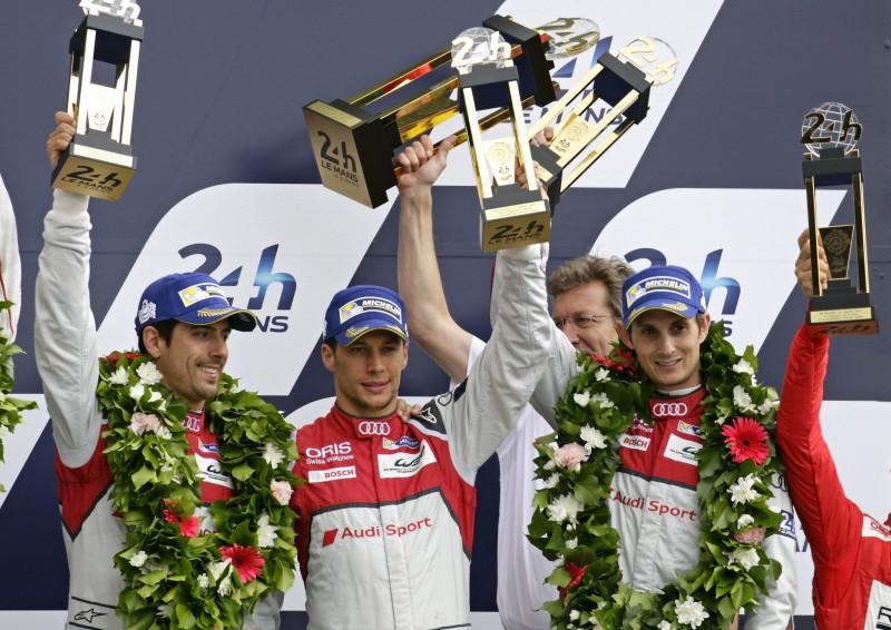 Audi Sport Team Joest廠隊最終以第三、四名佳績完賽,第18次站上Le Mans頒獎台!