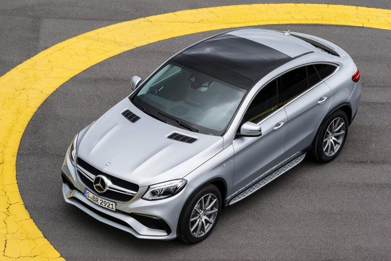 600餘萬元如果買的是Mercedes-Benz的跑格LSUV,那一定得叫AMG GLE 63 Coupe出來示威一下了!