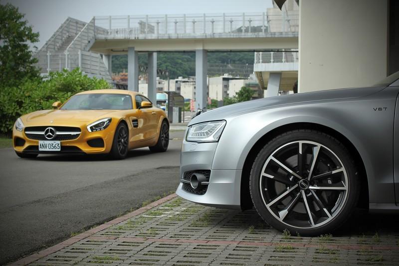 型格獨具如此稀有的德國車如S8 plus還真的不多!
