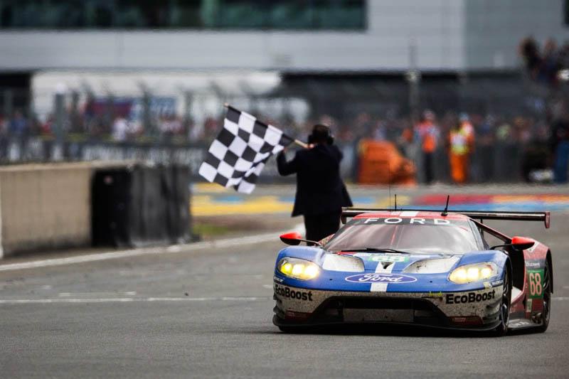 2016年重返Le Mans賽事的Ford以全新第二代GT所研發的賽車拿下分組冠軍殊榮。