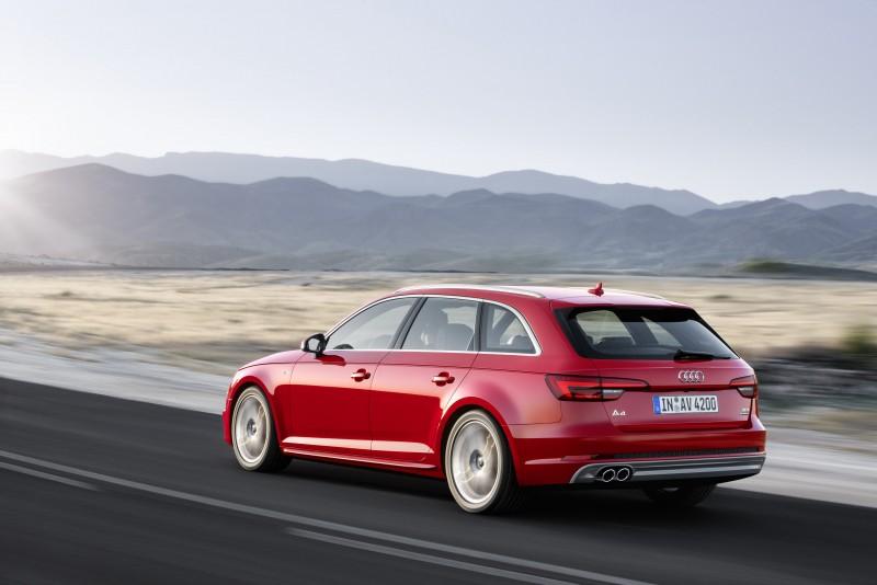 The new A4 Avant成熟經典而前衛的外型,定義出不容錯認的新世代Audi全車系家族風貌!