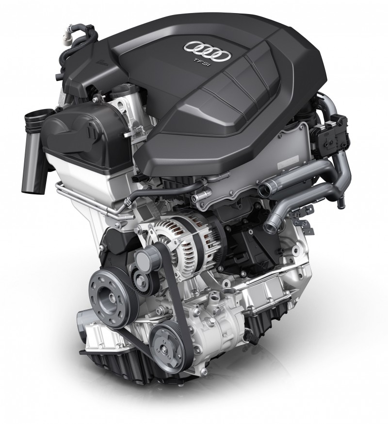 The new A4 / A4 Avant 30 TFSI入門車型,為A4車系首次搭載1.4 TFSI渦輪增壓汽油動力