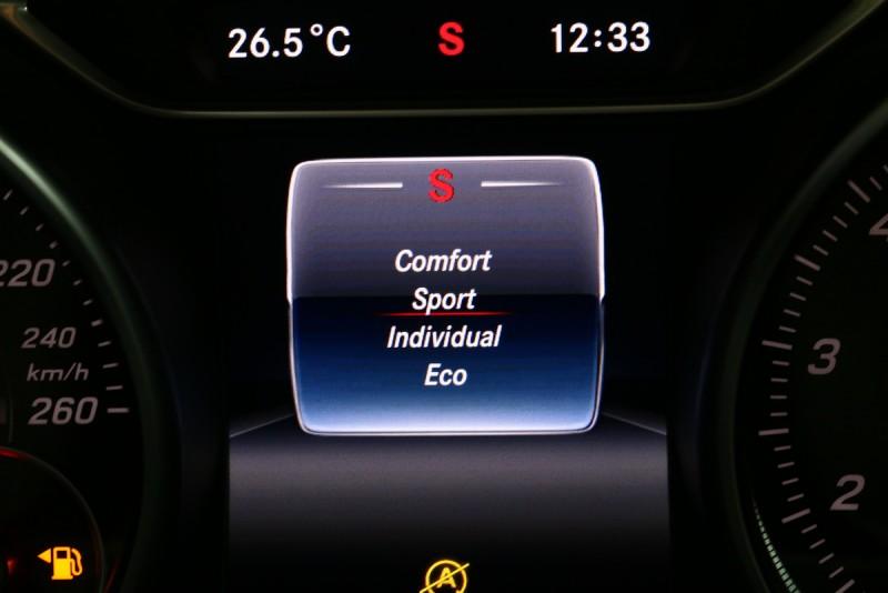 即便是動力最入門的A 180,選擇Sport模式後也可享受充沛的性能表現
