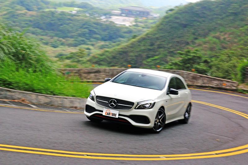 A250 Sport開起來十分活潑,操控性在水準之上,而且同樣十分好上手。