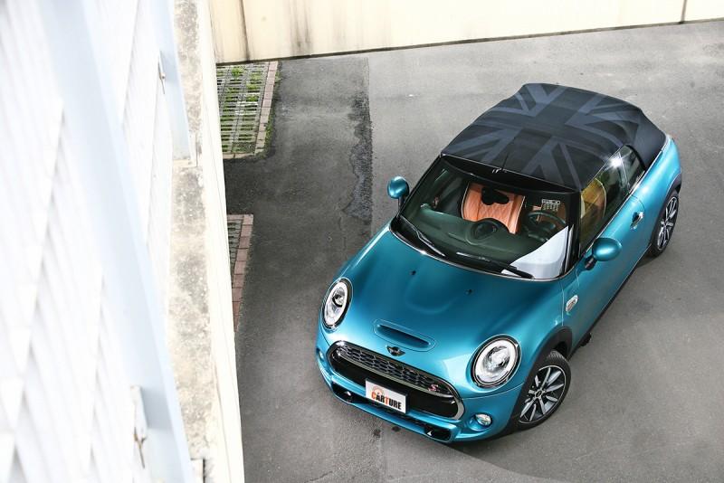 就算是Mini Cabrio剛性也已經提升相當多,幾乎感受不出與硬頂車差異何在。