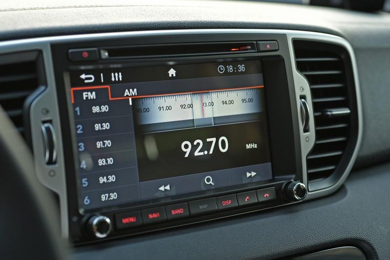 All-New Sportage連觸控螢幕介面也設計用心,精緻的視覺呈現讓人愛不釋手。