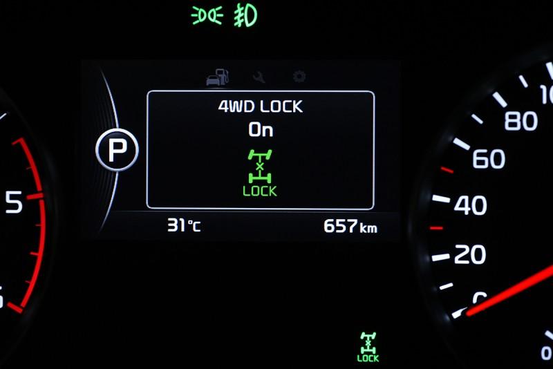 智慧型四輪傳動系統透過電腦聰明運算,適時調整前後軸扭力分配,搭配先進的彎道循跡控制系統,可達到最佳抓地力表現。