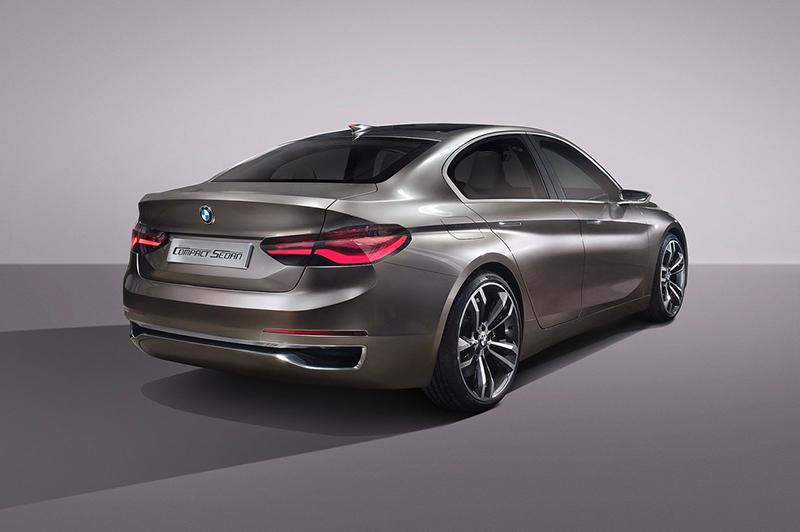 這是2015年廣州車展所發表的Compact Sedan Concept,基本上,就是如今1 Series Sedan的雛形。