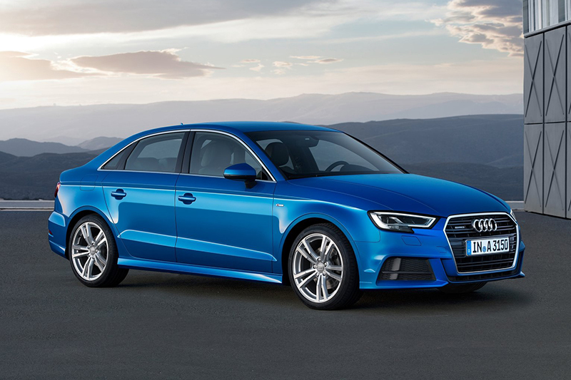 Audi A3 Sedan。