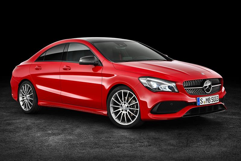 Mercedes-Benz CLA。