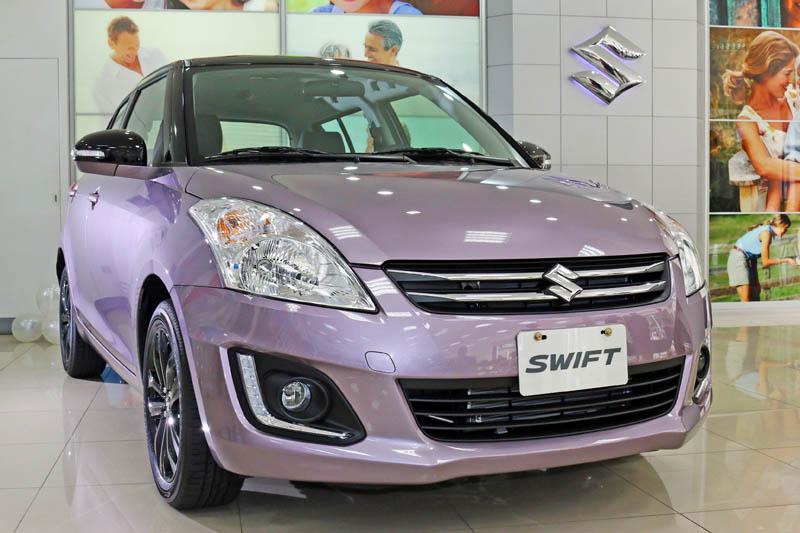 Swift 2tone特式車再次推出新車色。