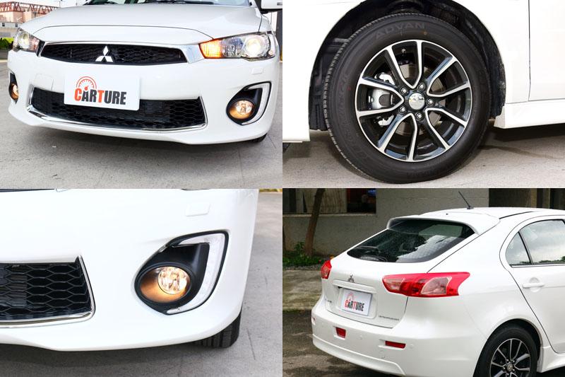 新樣式水箱護罩、16吋雙肋式鋁圈與LED日行燈都是新年式車型改變重點。