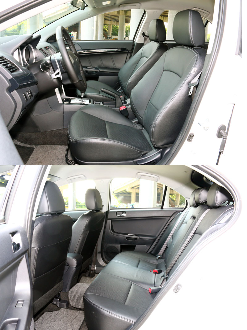 拜超過4.6米的車長以及超過1.5米的車高,讓它有著寬敞的車內空間。