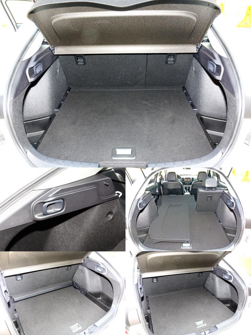 在配合One Touch椅背翻倒機構與底版可下移設計讓它運載機能更具彈性。