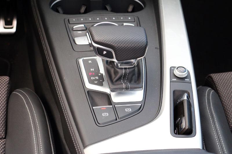 全新A4接搭載S Tronic七速自手排變速系統。