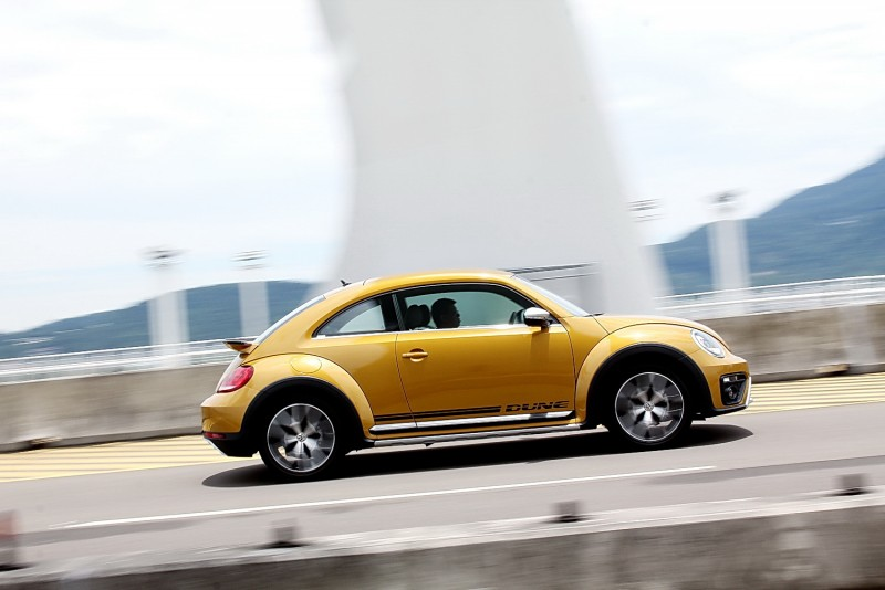Beetle Dune是一輛動力操控很均衡的跨界車