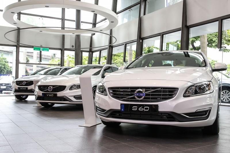 2017年式的S60、V60、V60 Cross Country與XC60四款車型也同步發表。