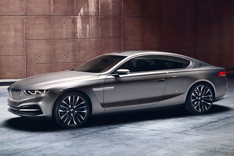 全新8 Series將以7 Series雙門衍生車的身份現身,圖中則為2013年的BMW Pininfarina Gran Lusso Coupe概念車。