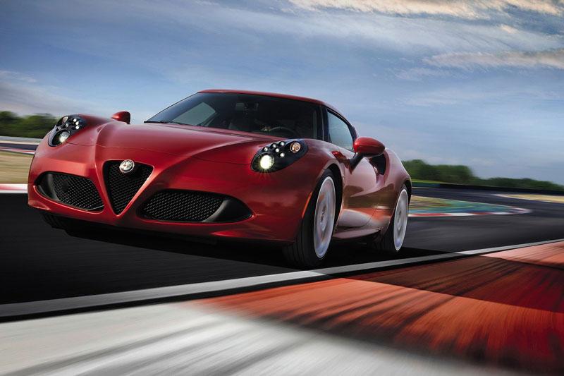 •Alfa Romeo 4C Coupe