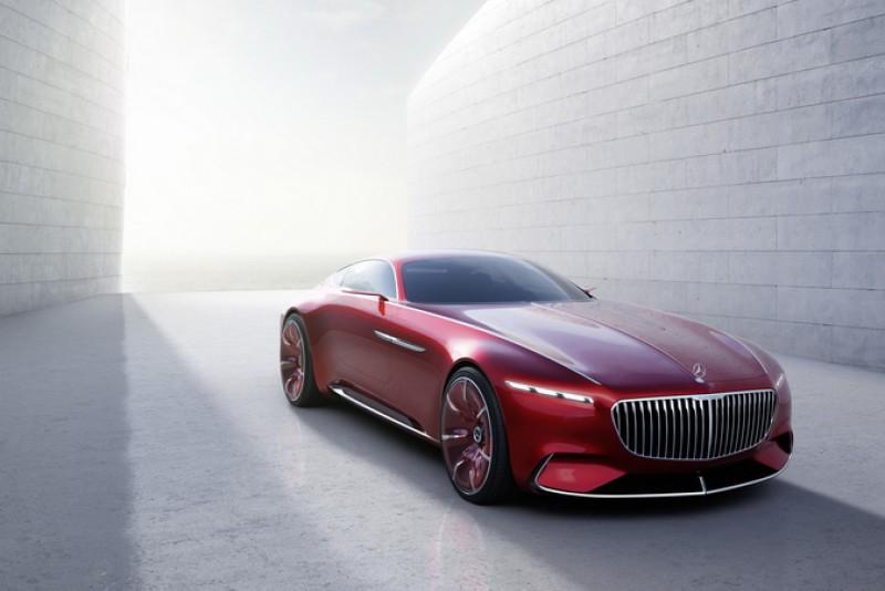 圓石灘車展登場的Vision Mercedes-Maybach 6不僅是輛概念車,據說明年也有量產的可能性。