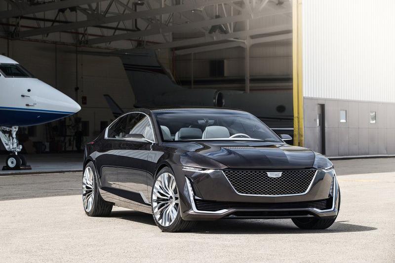 Cadillac也玩四門Coupe了!圓石灘車展登場的Escala Concept其實真是漂亮啊!