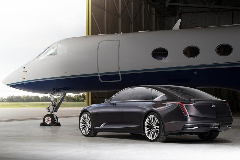 造型承先啟後的CadillacEscala Concept,就算直接量產也不讓人太過意外。
