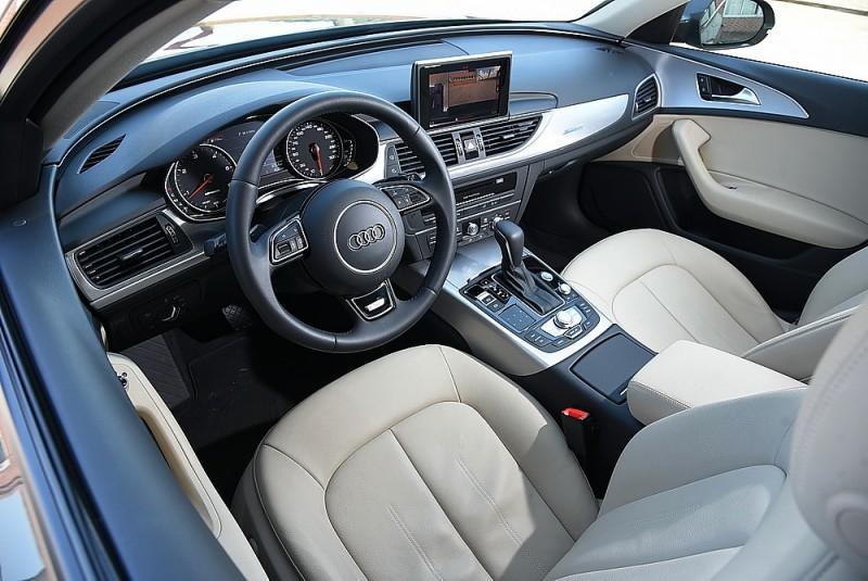 車室空間一如Audi車款豪華而舒適