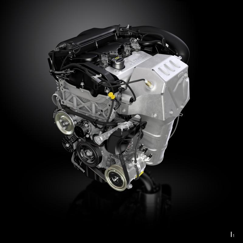 EP6FDTR1.6升四缸渦輪增壓汽油引擎調校後動力更大但不失原有線性