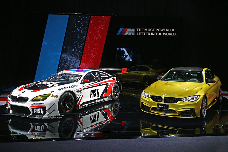 BMW M6 GT3與M4 Competition Package,象徵M Power賽道公路兩相宜的熱血精神。