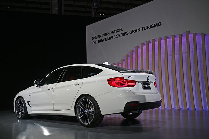 這次同場發表小改款3 Series Gran Turismo,而且還是加了M Sport套件的勁裝版本!