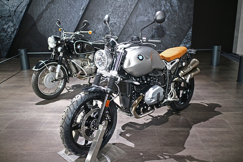 BMW R60以及R nineT Scrambler一古一今都是許多騎士夢寐以求的瑰寶。