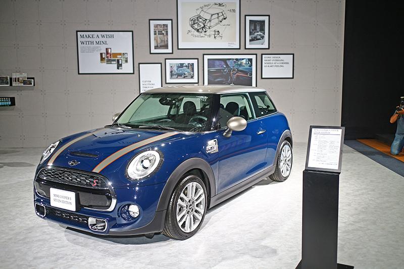 MiniSeven Edition特仕車款展現Mini經典意涵。