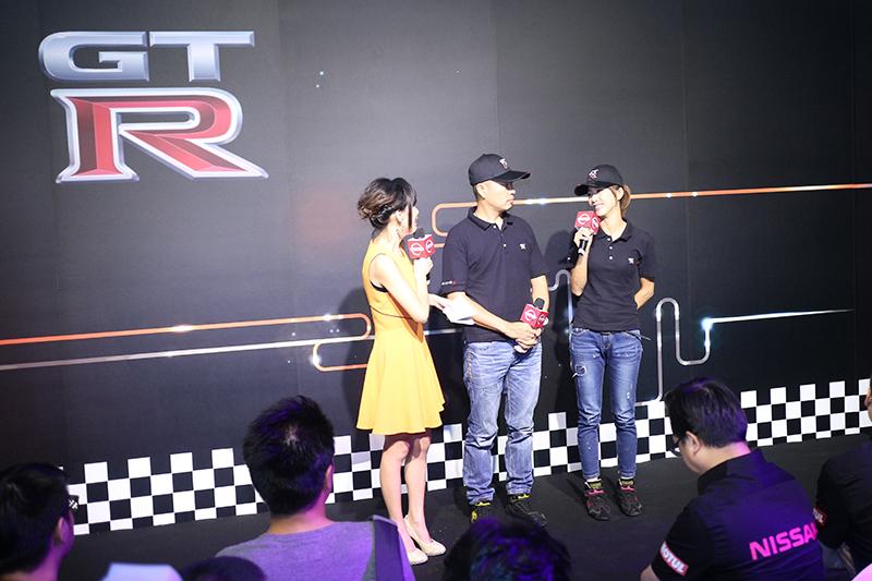 發表會也請到了知名賽車夫妻檔林沅滸與沈慧蘭出席。