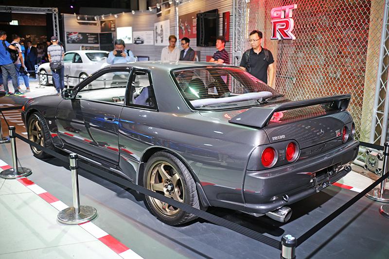 「靜,亦撼動」NISSAN GT-R傳奇特展車輛包含經典的R32 GT-R。