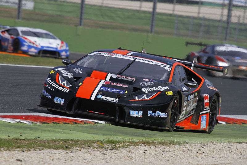 CIGT Vallelunga Antonelli Motorsport車隊獲得第二回合正賽冠軍。