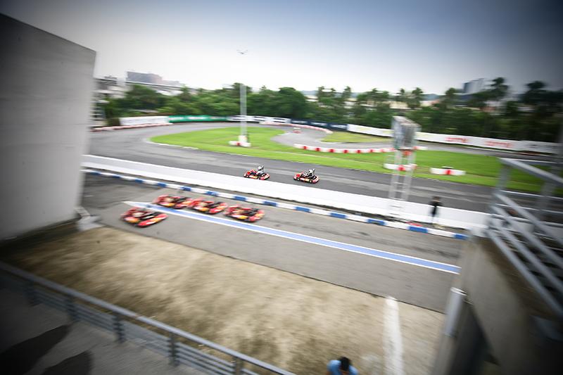 基本上,「大魯閣N35幸田選拔賽」皆是以大魯閣卡丁車場450m半場賽道為基礎,僅就中半段減速彎以及附屬跑道的開放與否進行更動。