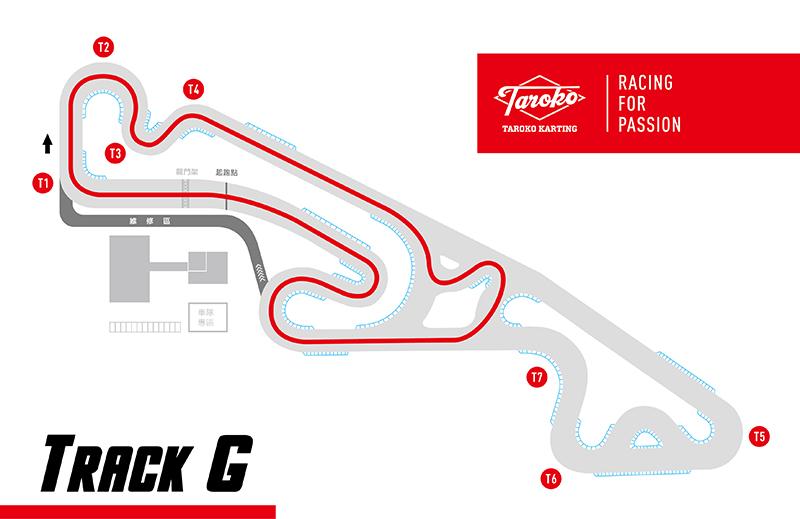 第一階段的Track F將原本的半場賽道加入減速彎元素,是本次賽程中較複雜的賽道。