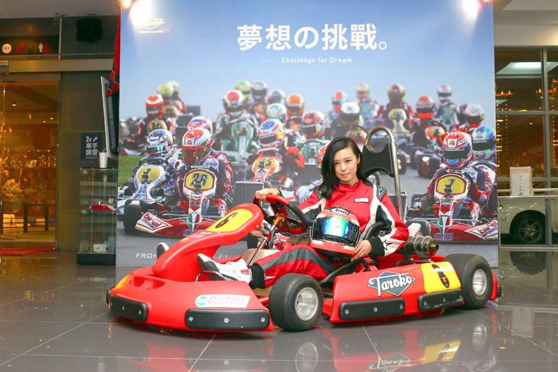 Iris是「大魯閣賽車女孩俱樂部」中的最佳Model。