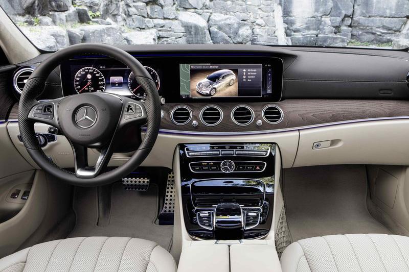 車室內扣除系統等內在外,乍看與一般E-Class沒有太大不同。