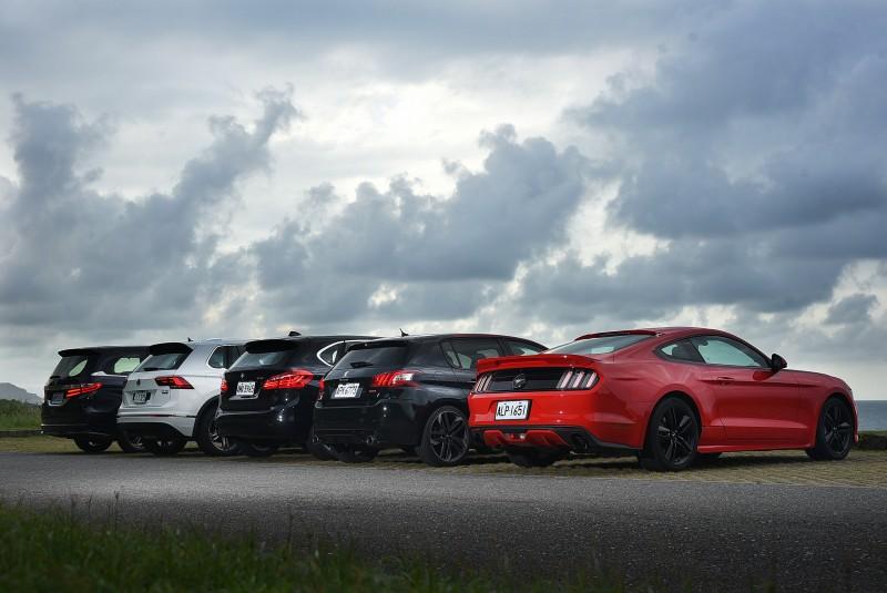 五位編輯,五種觀點,五輛車,端看你的人生想進階成什麼模樣?