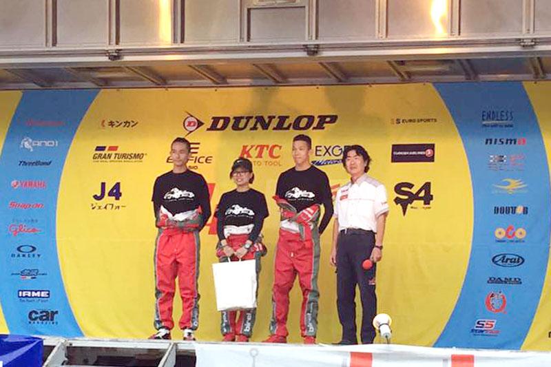 雖然最終成績不盡理想,「TAROKO Racing Team」卻以整齊的服裝獲得「最佳服裝獎」,也算是另類收獲。