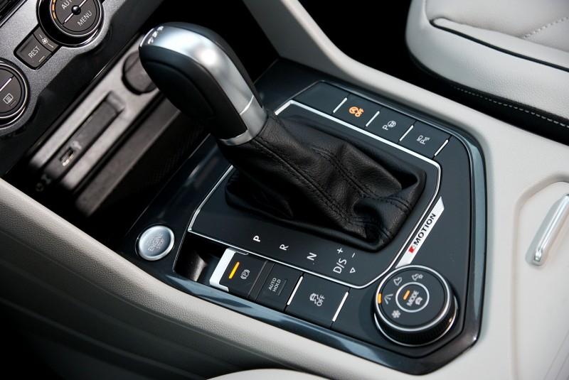 7速雙離合變速箱搭配不同駕駛模式讓Tiguan動力輸出兼具性能與節能兩種風貌