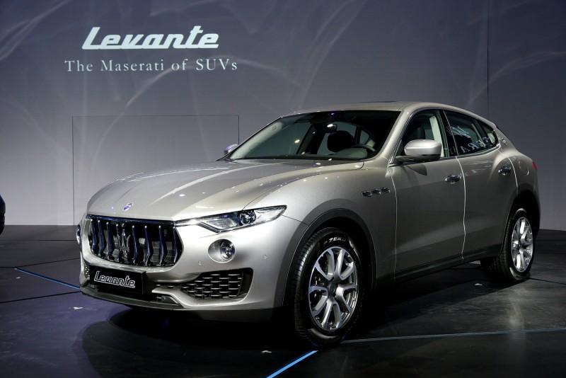 Maserati首輛SUV:「溫暖善變的地中海型季風」
